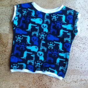 Kurzes Shirt Zootiere